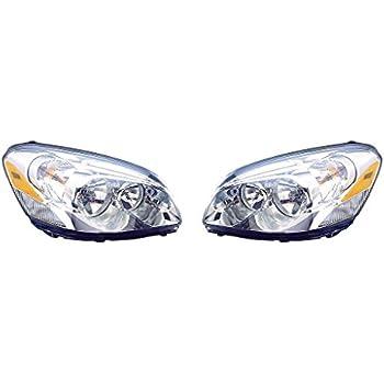New Pair Set Halogen Headlight Lens Cornering Lamp Assembly 06-11 Buick Lucerne