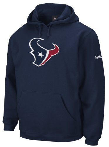 NFL Men's Houston Texans End Zone Playbook Hood (Navy, Small)