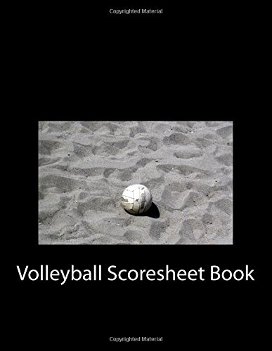 Volleyball Scoresheet Book: 200 Pages (100 sheets)