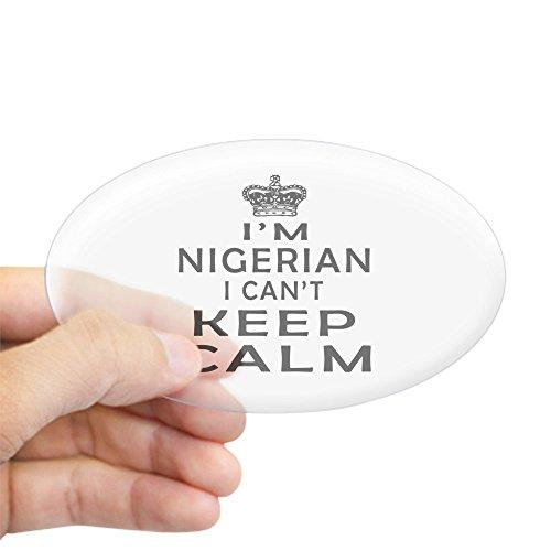 ian I Can Not Keep Calm Sticker (Oval) Oval Bumper Sticker, Euro Oval Car Decal ()