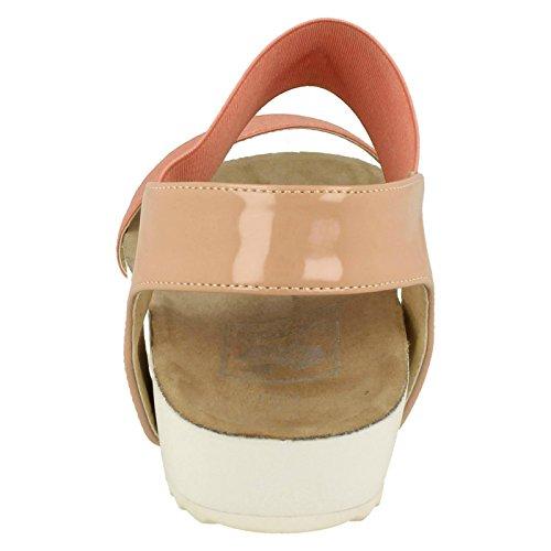 Naiset Sandaalit Vaaleanpunainen F10325 Tyyli Maanläheinen rTFqr