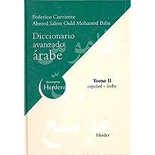 DICC. AVANZADO ESPAÑOL - ARABE TOMO II