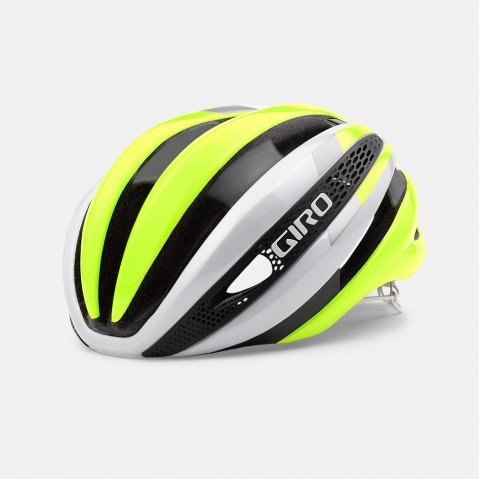 Giro Synthe Helmet White/Highlight Yellow, L Review