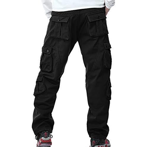 armée Pantalon Pantalon de 100cotoncoupe à 6 2 pour ample avec glissière polaire Crazy chaud cargo doublé d'hiver vert Player fermeture thermique de homme Pantalon travail Pantalon pochesen noirkaki UVqSMjzLpG