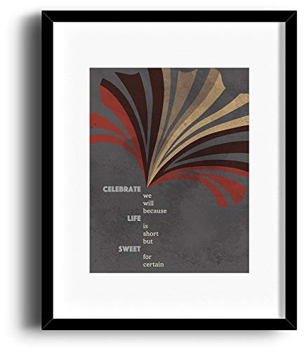 - Two Step - Song Lyrics Inspired Art Music Print Illustration - Framed and Matted Options