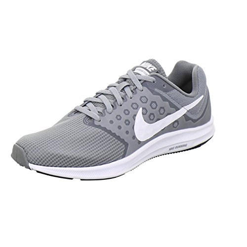 innovative design 8d939 945a1 Galleon - NIKE Women s Downshifter 7 Running Shoe Stealth White Cool Grey  Black 5.5