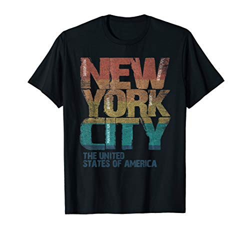 Vintage New York Liberty Lady USA BIG APPLE of City NYC Tee -