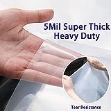 HOMEIDEAS 5 Mil 2 Pack Super Thick Mattress Cover