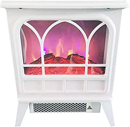 Mistli Portable Electric Fireplace Stove Freestanding Fireplace Heater Cooker Indoor Heating With Wood Stove Flame 900w 1800w Overheating Safety Protection Amazon De Küche Haushalt