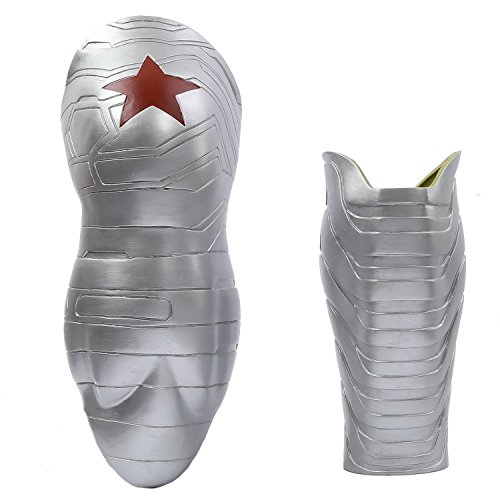 Bucky Barnes Winter Soldier Costume (XCOSER Winter Soldier Arm Sleeve Prop Costume Accessories for Christmas)