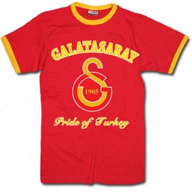 Galatasaray Crest T-Shirt for sale  Delivered anywhere in USA