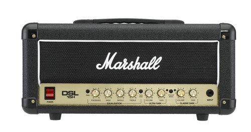 Marshall DSL Series DSL15H 15 Watt Valve 2 Channel Guitar Amplifier Head by Marshall Amps