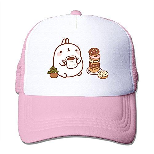Gsyful Punk Molang Cute Rabbit Lovely Baseball Cap Hat Snapback Pink