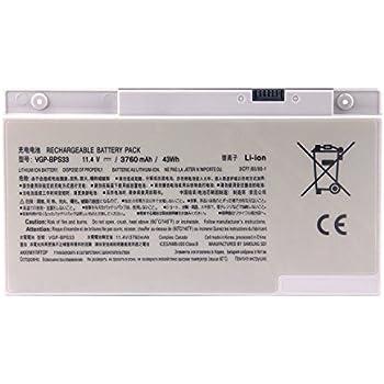 Batterymarket 3500mAh Li-Polymer Laptop Battery Pack VGP-BPS33 For Sony Vaio SVT-