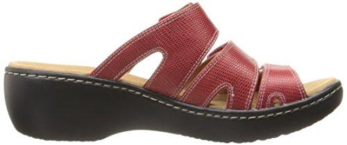 Sandal Cuero Mujer Vestido Damir De Rojo Delan Combo De Clarks x7BqIB