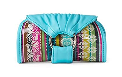 Purse Organizer Sweet With Interior Pouches And Coordinating Wristlet