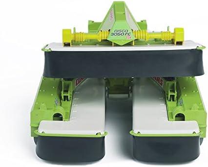 BRUDER - 02218 - Triple faucheuse arrière CLAAS Disco 8550 C Plus - Verte