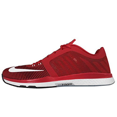 black Tr3 Blanco Scarpe Red White Nike Zoom Uomo University Rojo Brogue Speed Stringate Basse OqaZT6BW