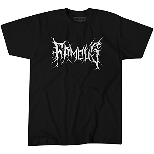 Famous Stars and Straps Black Metal Tee -