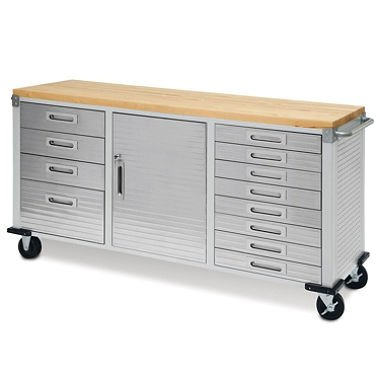 Seville Classics UltraHD 12-Drawer Rolling Workbench ()