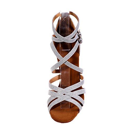 IntéRieur Professionnel Chaussures Danse YC à white Talons DéButant L Femmes Pour Hauts Chaussures En Latin Cuir De qZnw6z