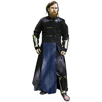 Epic Armoury- CQ Black Ice Battleskirt-XL Falda, Color negro/azul ...