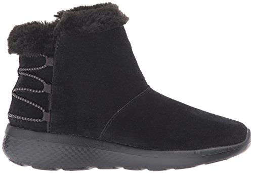 Skechers Vrouwen On-the-go City 2-hibernate Winter Boot Zwart