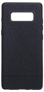 Edivia Back Cover For Samsung Galaxy Note 8, Black