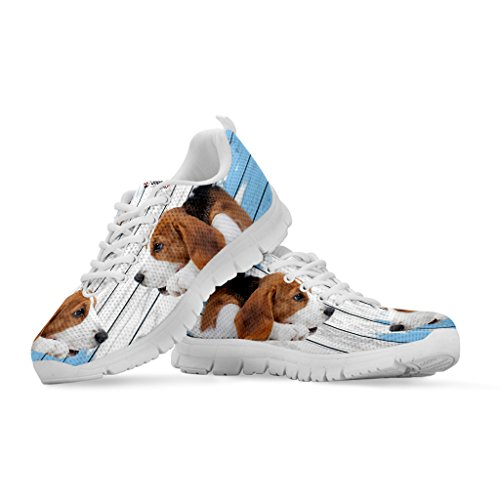 Shoes Shoetup Print Casual Amazing Sneakers Women's Breed Beagle Women's Running Your Choose Dog 8rZ8q