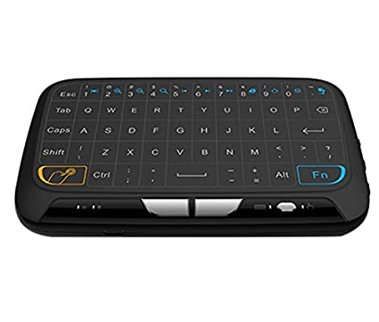 08416d92276 Image Unavailable. Image not available for. Color: Eoncore Mini H18  Wireless Keyboard 2.4GHz Portable Keyboard With Touchpad Mouse ...