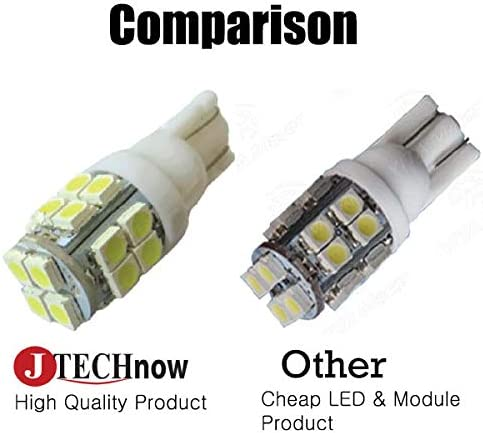 194 168 2825 W5W TR 10x T10 20-SMD LED White Super Bright Car Lights Bulb