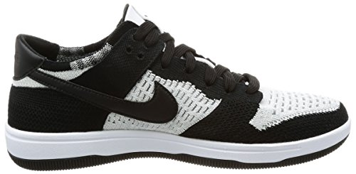 Dunk Black Grey Shoe Wolf White High Basketball NIKE Men's Ankle Flyknit 56qBS