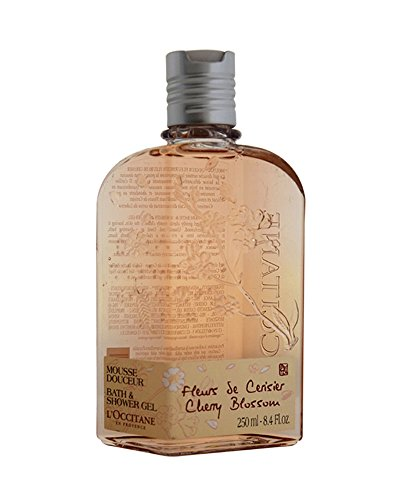 Delicate Bath Gel (L'Occitane Delicate Cherry Blossom Bath & Shower Gel, 8.4 fl. oz.)
