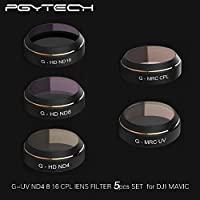 XSD MODEL PGYTECH Lens Filters for DJI MAVIC Pro Drone G-HD ND4 ND8 ND16 G-MRC UV CPL Filter Accessories gimbal Lens Filter Quadcopter parts