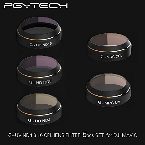 XSD MODEL PGYTECH Lens Filters for DJI MAVIC Pro Drone G-HD ND4 ND8 ND16 G-MRC UV CPL Filter Accessories gimbal Lens Filter Quadcopter parts by XSD MODEL
