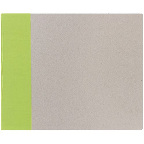 American Crafts 12-Inch by 12-Inch D-Ring Modern Scrapbooking Album, Key (Album Key Ring)