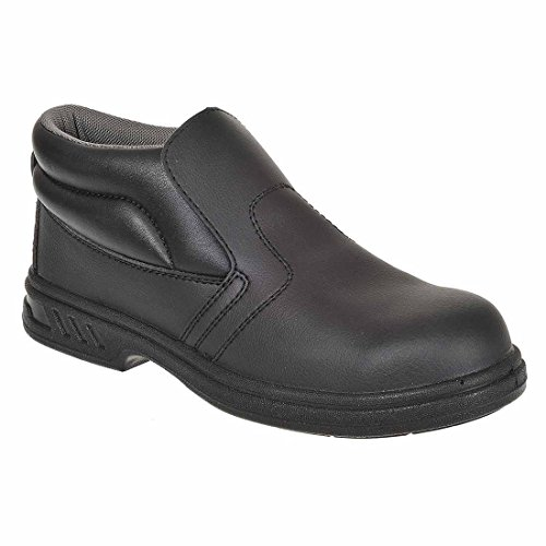 Steelite SUW–rutschfest auf Arbeit Sicherheit Workwear Boot S2, EU 34 - UK 1, schwarz, 1 schwarz