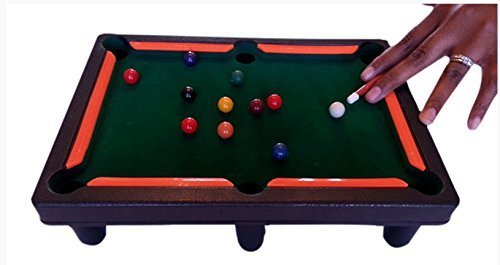 Board Games Billiards Set* Pool Tabletop Game Set* Mini Sports Arcade Children Game* Snooker Playset