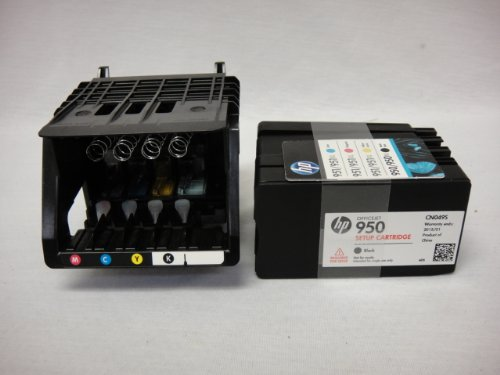 HP Officejet Pro 8600 Genuine Printhead With Set Up Cartridges
