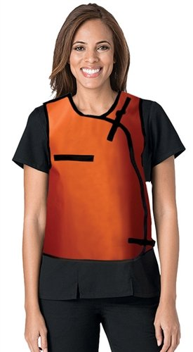 (Vest-Guard Regular Lead X-Ray Protective Vest, 0.5mm Pb Front, 0.25mm Back Pb, Male, Hook & Loop Closure, Medium)