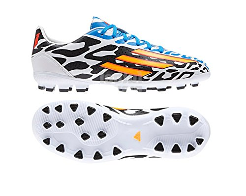 Botas Adidas F10 AG Blanco/Negro -Messi-