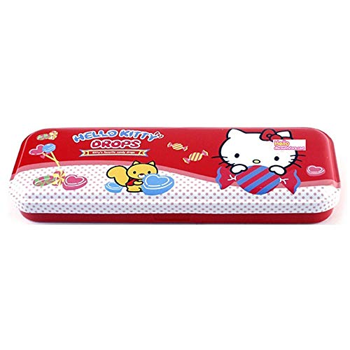 Licensed Hello Kitty Pen Pencil Tin Case, only 1 will be sent