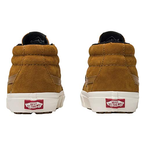 Unisex Adulto Sk8 – Leather Giallo Reissue Sneaker Vans hi q4Xxw6x
