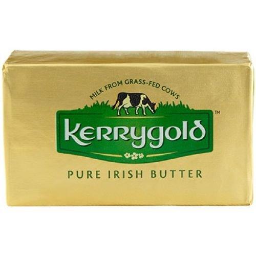 Kerrygold Salted Irish Butter, 8 Ounce - 20 per case.