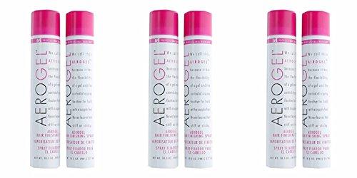 Tri Aerogel Hair Finishing Spray 10.5 oz - 6 cans by Aero (Image #1)