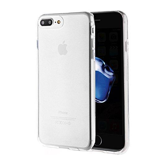 Apple iPhone 7 Plus 5.5 zoll 2016 PROTEKTOR case TPU transparent Tasche Hülle - Zubehör Etui cover iPhone 7+ Dual SIM (clear) - XEPTIO accessoires