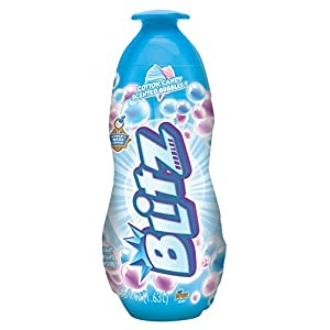 Bubble Blitz 55 fl oz Bottle of Cotton Candy Scented Bubbles, Bonus Giant Wand Inside Bottle