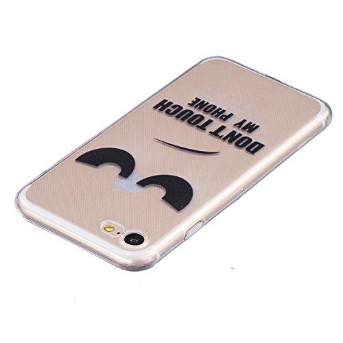 Voguecase® für Apple iPhone 7 hülle, Schutzhülle / Case / Cover / Hülle / TPU Gel Skin (my phone) + Gratis Universal Eingabestift