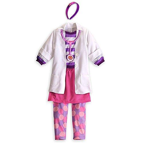 Disney Store Deluxe Doc McStuffins Costume (XXS Extra Extra Small 2-3)
