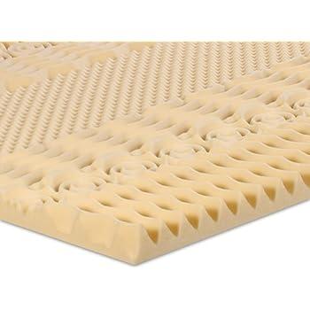 Amazon Com Serenia Sleep 2 Inch 7 Zone Memory Foam Topper